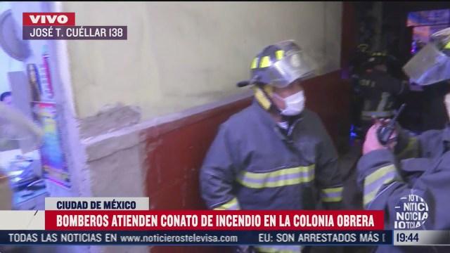 sofocan incendio en la colonia obrera cdmx