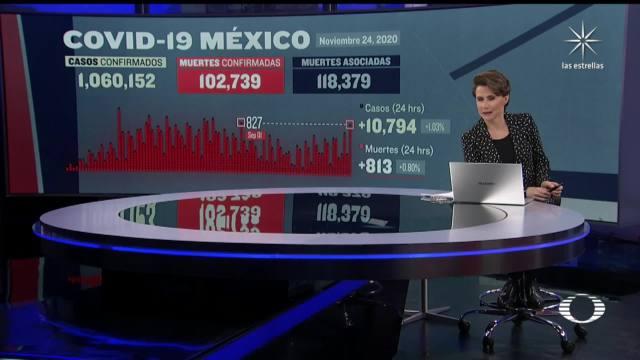 suman 102 mil 739 muertos por coronavirus en mexico