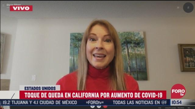 toque de queda en california por incremento de casos de covid