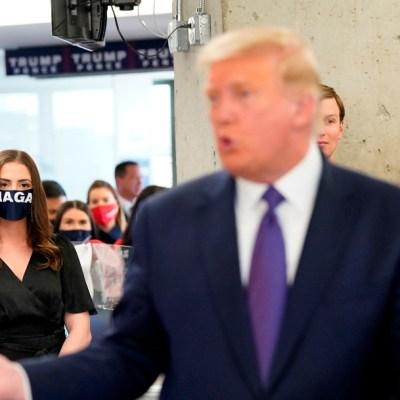 Estadounidenses tienen 'derecho a conocer' el ganador el día de la elección: Trump
