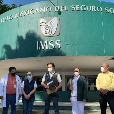 Hospitales IMSS sufrieron afectaciones por inundación en Tabasco