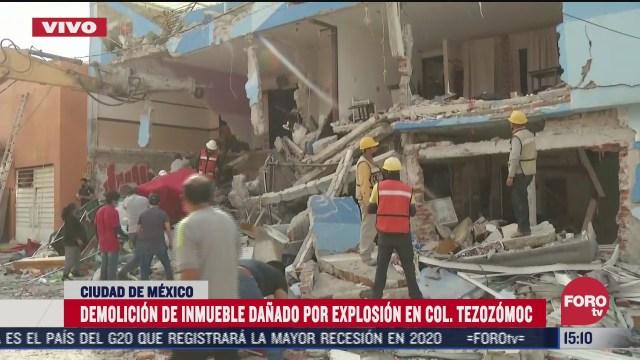 afectados por explosion de pizzeria recuperan sus pertenencias en azcapotzalco