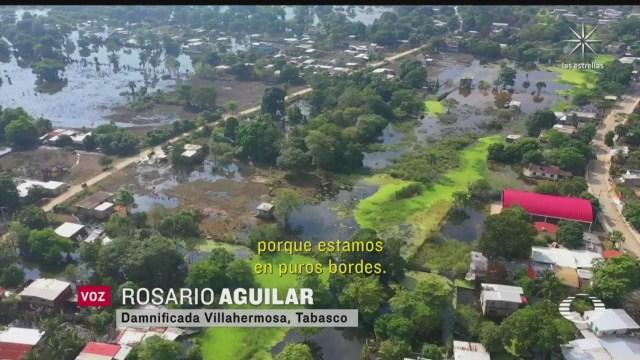 agua estancada otro problema que enfrentan afectados por inundaciones en tabasco