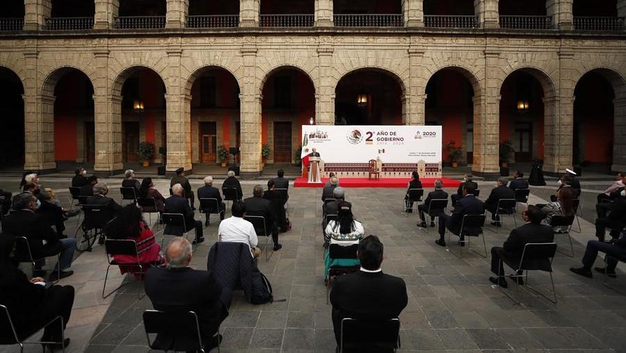 COVID-19, seguridad y economía, los otros temas del mensaje de AMLO por dos años de gobierno