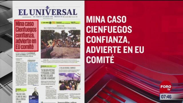 analisis de las portadas nacionales e internacionales del 4 de diciembre del