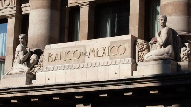 Fachada de Banco de México