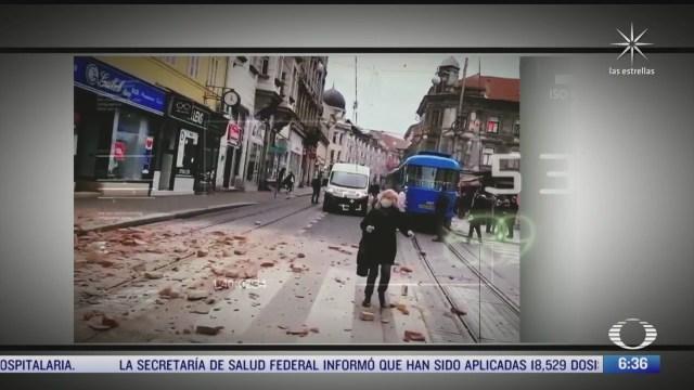 buscan a sobrevivientes tras sismo de 6 4 en croacia