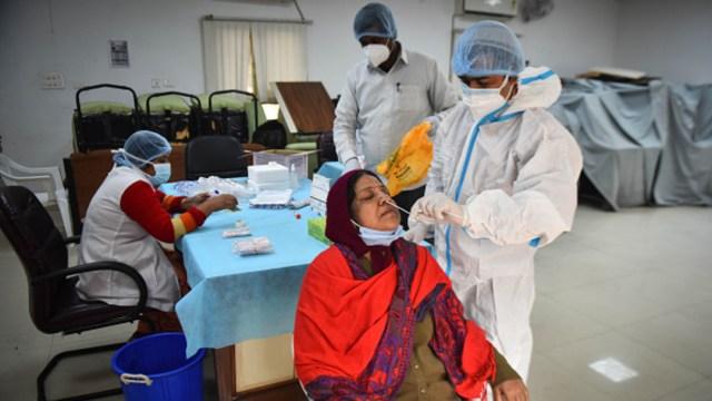 En las últimas 24 horas, India registró 25.152 nuevos casos en las últimas 24 horas
