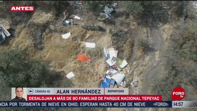desalojan a 90 familias del parque tepeyac