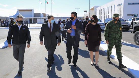 Inauguración Complejo Seguridad Nuevo Laredo Foto