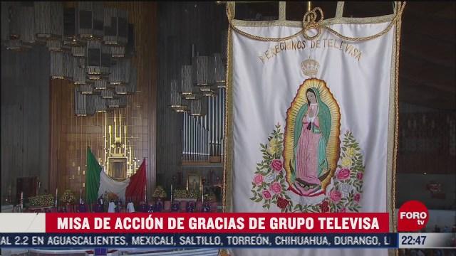 grupo televisa celebra peregrinacion virtual a la basilica de guadalupe