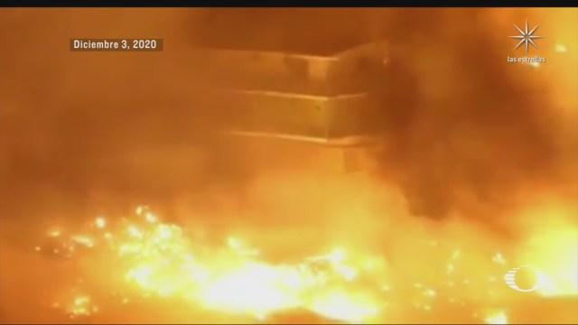 incendios dejan muerte y destruccion en tijuana