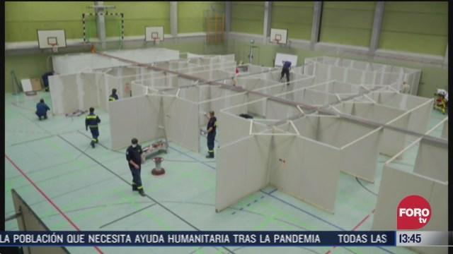 inician instalacion de centros de vacunacion masiva contra covid 19 en alemania