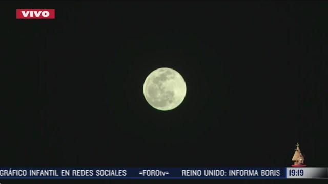 la luna llena fria se podra ver esta noche del 29 de diciembre