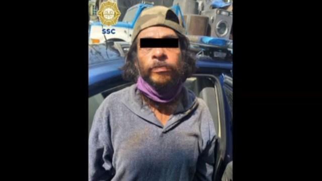 Ladrón de negocio detenido en la CDMX