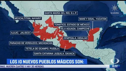 mas pueblos magicos para fomentar el turismo en mexico
