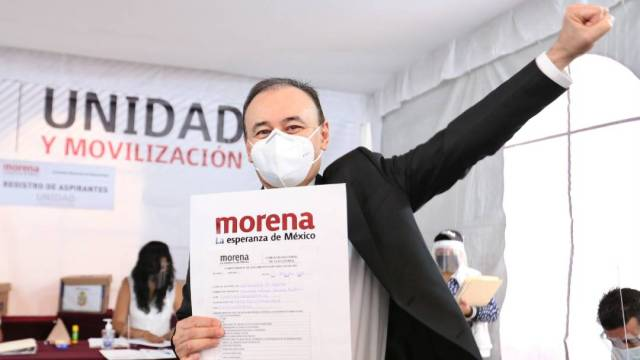 Morena registró a 63 precandidatos para las elecciones de 2021 en las que se renuevan siete gubernaturas