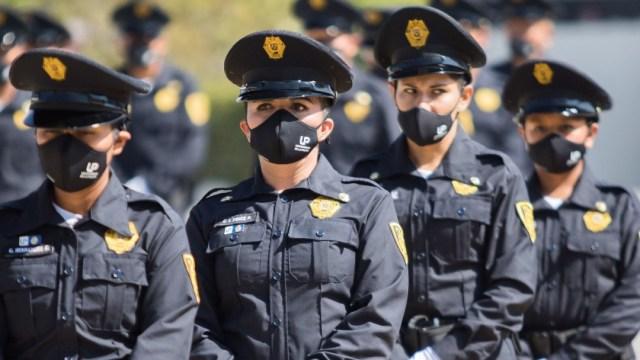 Mujeres policías de la Ciudad de México