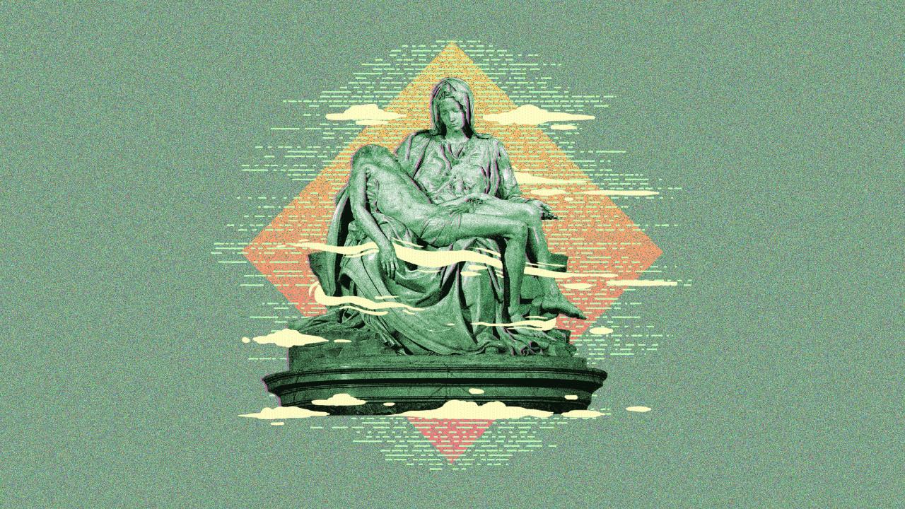 Miguel Angel, San Agustín, religión, filosofía, imagen ilustrativa