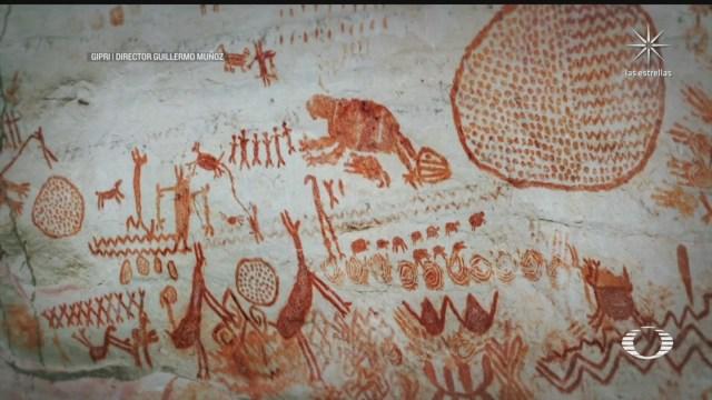 pinturas rupestres de la amazonia colombiana