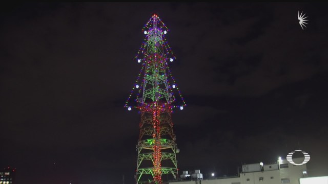 televisa chapultepec enciende su arbol de navidad