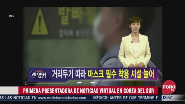 televisora presenta primera conductora de noticias creada con inteligencia artificial