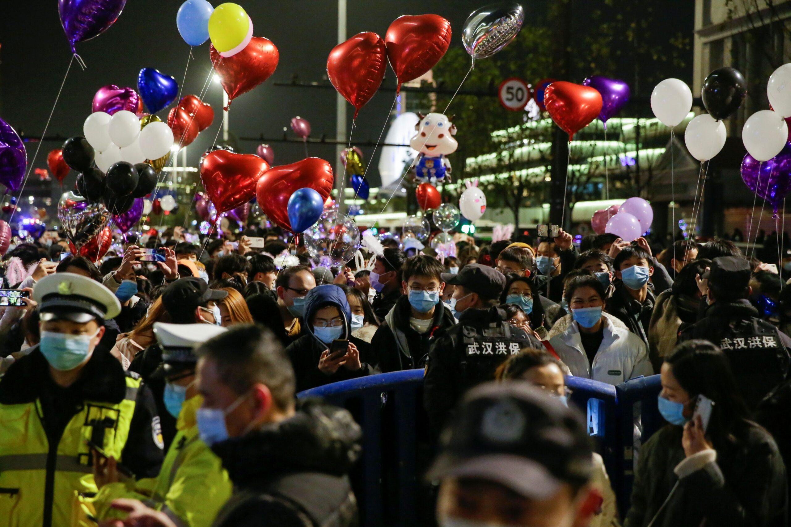 año nuevo en whuan