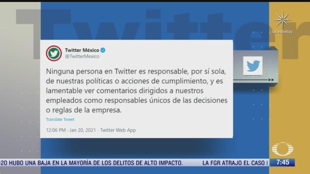 amlo afirma que directivo de twitter es simpatizante del pan la red social responde