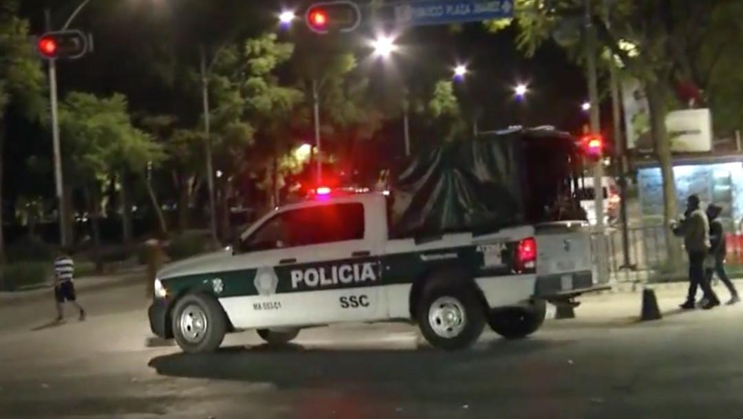 CDMX recibe al 2021 con calles vacías y sin festejos por la pandemia de COVID-19