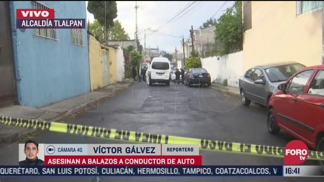 asesinan a balazos al conductor de un vehiculo en la alcaldia tlalpan
