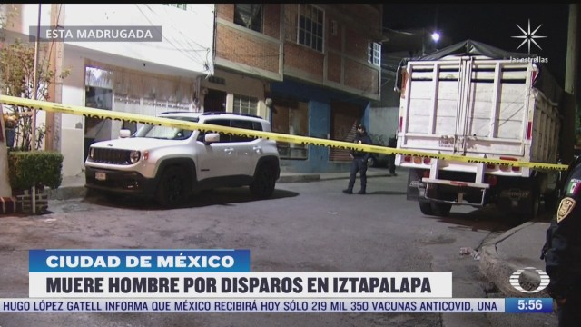asesinan a hombre en calles de la alcaldia iztapalapa cdmx