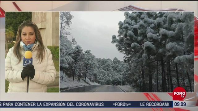 bajas temperaturas golpean el norte de mexico