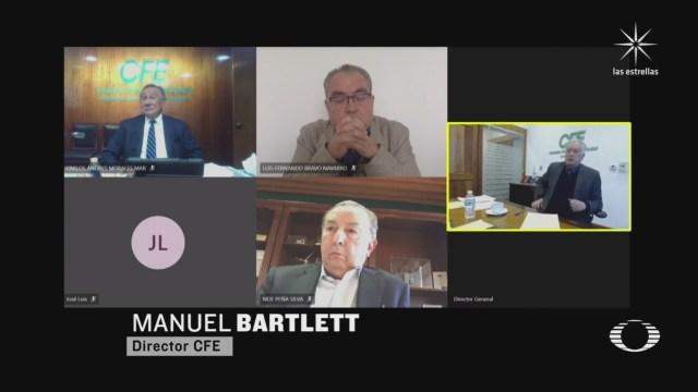 bartlett admite que documento que justifico apagon de diciembre era apocrifo