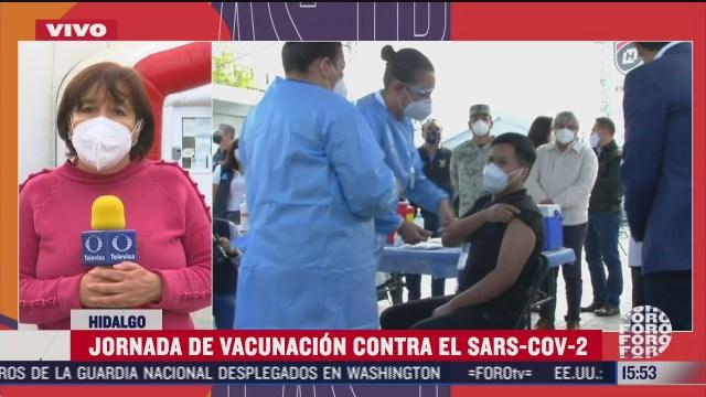 brigadas correcaminos aplican vacunas covid en hidalgo