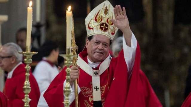 Cardenal Norberto Rivera está hospitalizado por COVID-19