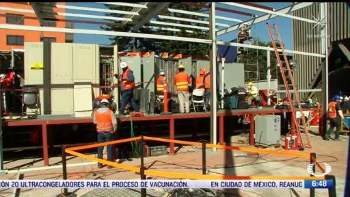 cfe construye subestacion para rehabilitar servicio en lineas 1 2 y 3 del metro