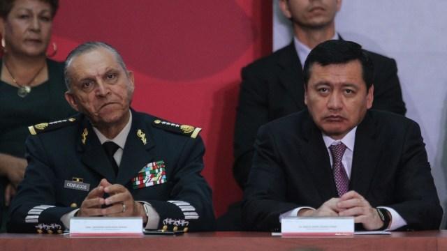Nunca hubo dudas sobre la honorabilidad del general Salvador Cienfuegos: Osorio Chong