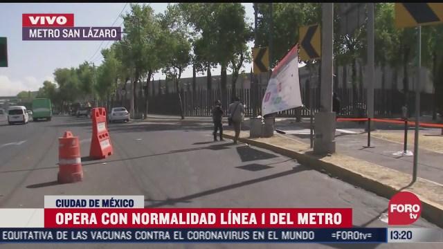 continua servicio emergente de transporte para evitar aglomeraciones en el metro cdmx