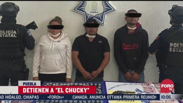 detienen al el chucky por delitos de narcomenudeo en puebla