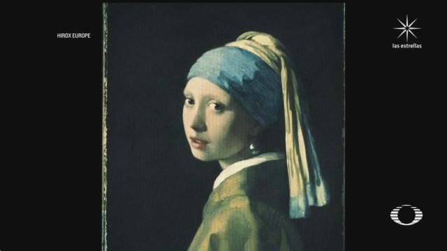 especialistas escanean pintura la joven de la perla