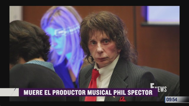 espectaculosenexpreso muere el productor musical phil spector