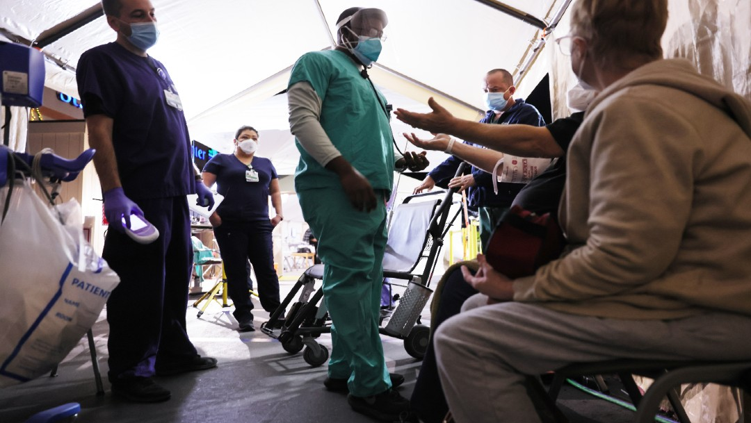 Estados Unidos acumula más de 22 millones de casos COVID