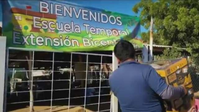 Famosos narcos apadrinan escuela en Culiacán