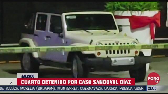 fiscalia de jalisco detiene a uno mas por asesinato del exgobernador sandoval