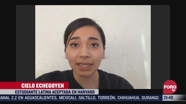 harvad acepta a una hija de migrantes