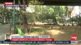 hombre muere en la calzada mexico tacuba