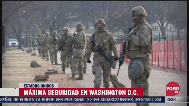 implementan maxima seguridad en washington