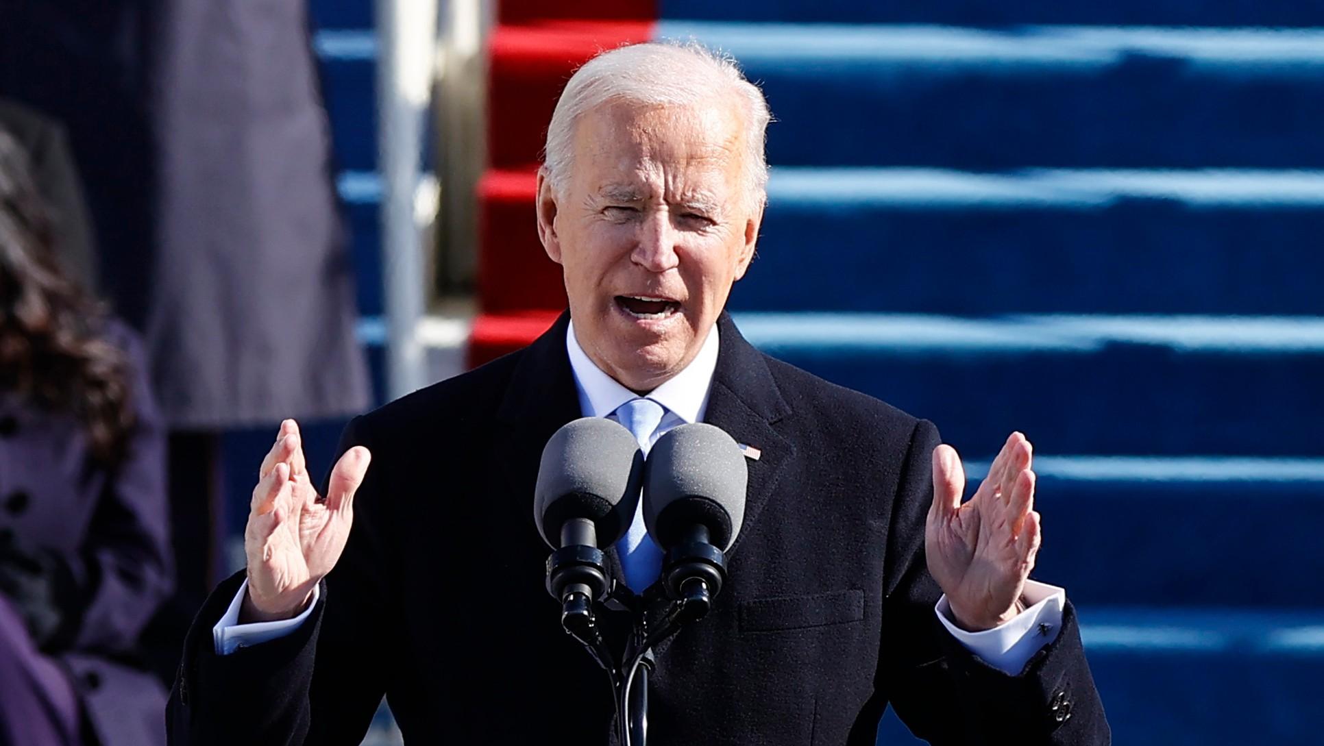 Ceremonia de juramentación de Joe Biden como presidente de Estados Unidos