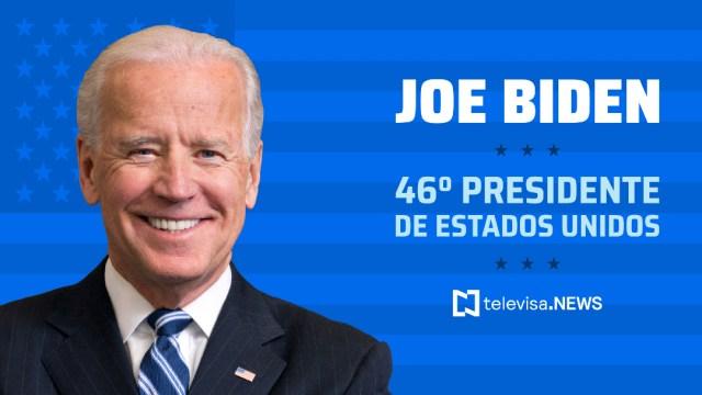 Joe Biden se convierte en presidente 46 de Estados Unidos