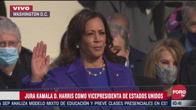 kamala harris jura como primera vicepresidenta de eeuu